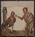 Cockfighting and Midgets. Those Romans were all class.